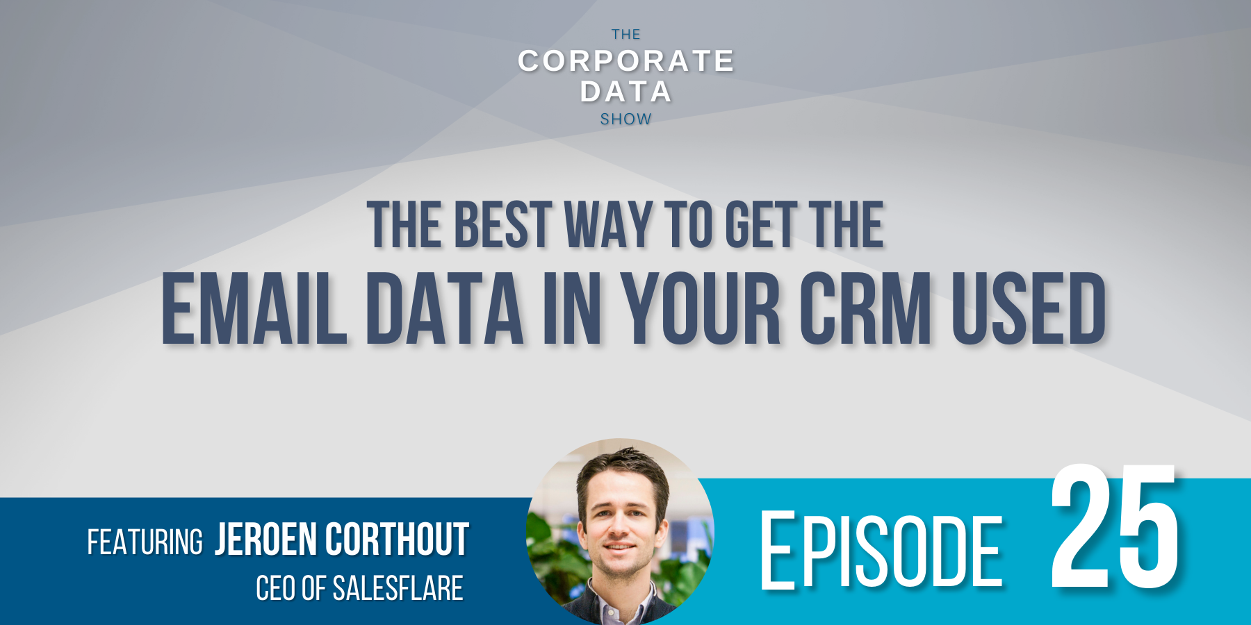 The bet way to get the email data in your CRM used